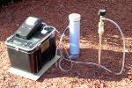 Soil Gas Probe In-Ground Radon Detection